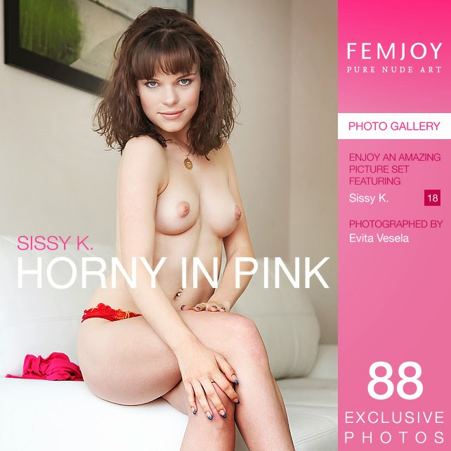 Pnkvmjol 2014-07-19 Sissy K - Horny in Pink 08060