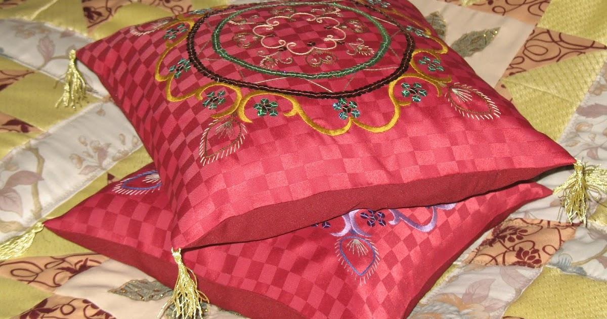 Декоративные подушки своими руками в восточном стиле 71