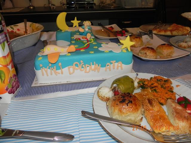 Doğum günü partisi, birthday cake