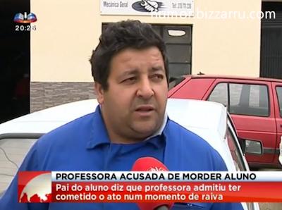 Professora é acusada de morder aluno