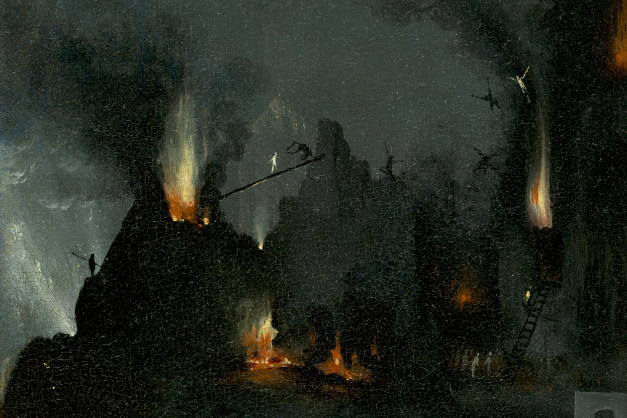 Tradux infierno en la noche - Jardin infierno ...