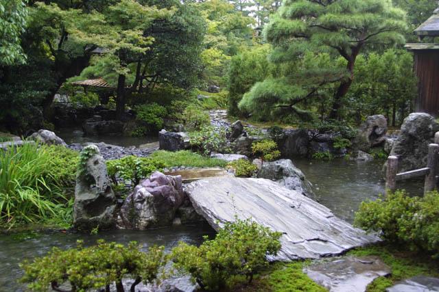 modelo de ponte para jardim japonês