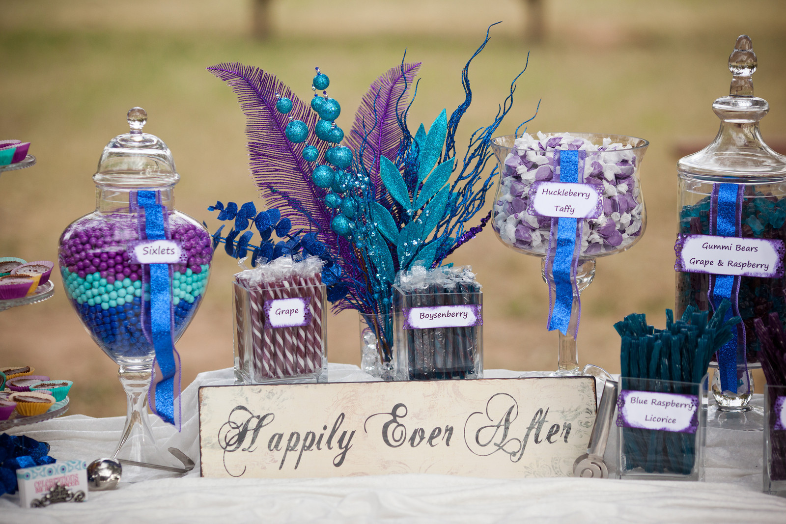 Celebrations by Amy Bacon: Review from our 11.12.11 Wedding Candy Buffet