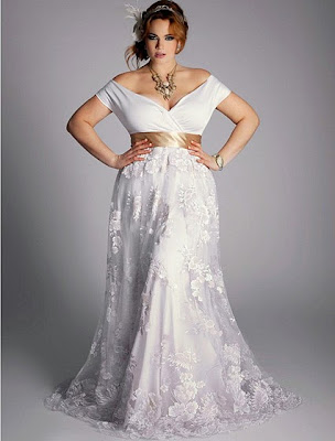 baju pengantin size besar