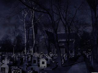 Graveyard Dark Gothic Wallpaper