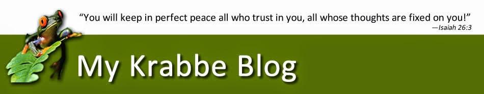My Krabbe Blog