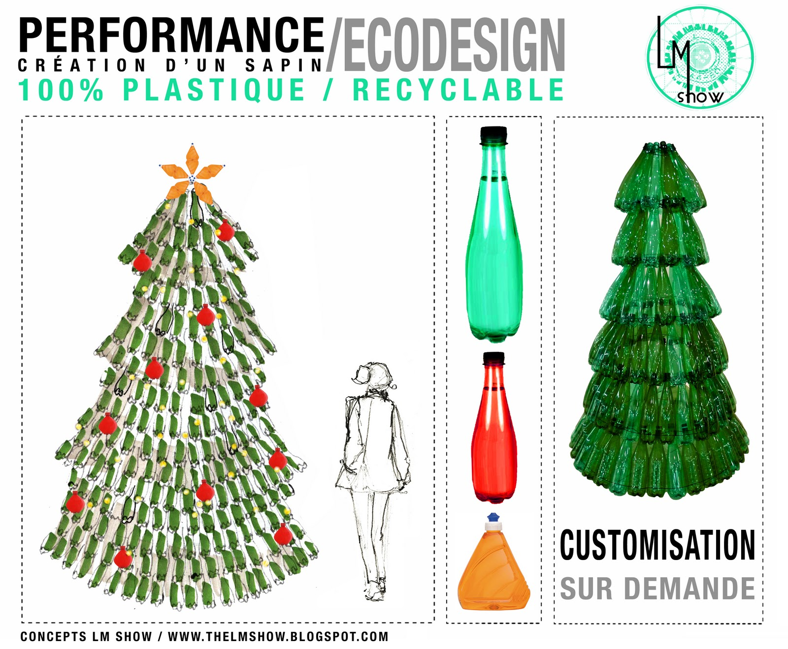 Dcoration Noel Bouteille Plastique Amazing Dessin With