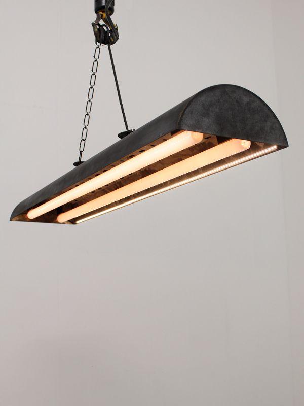 garage commercial fixture for bay optimization lights industrial warehouse light high ho space in lighting shop led