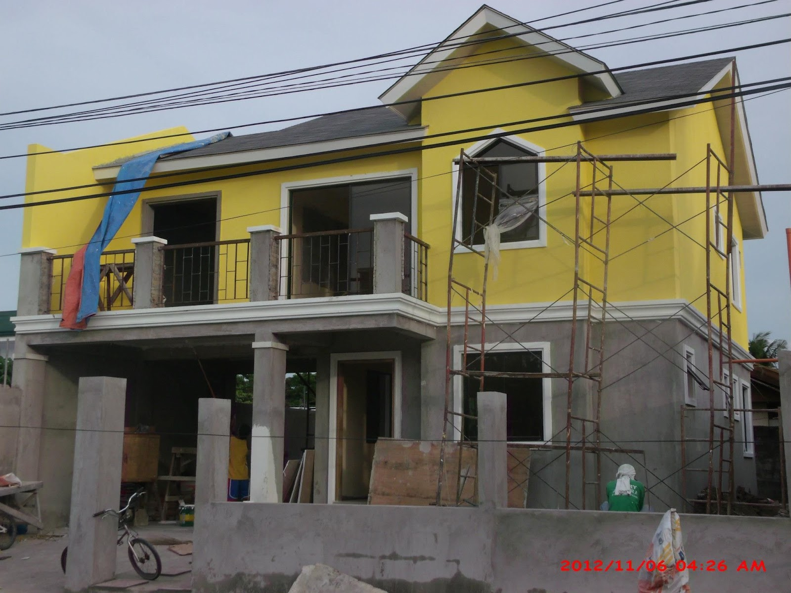 Alta tierra village house construction project in jaro Modern home construction