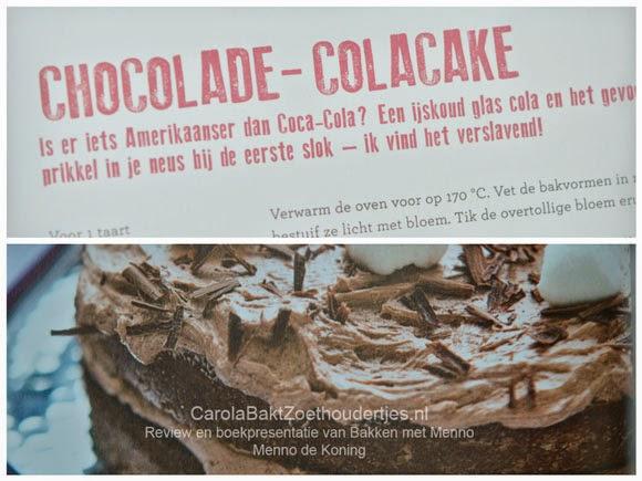 chocolade cola cake Menno de Koning