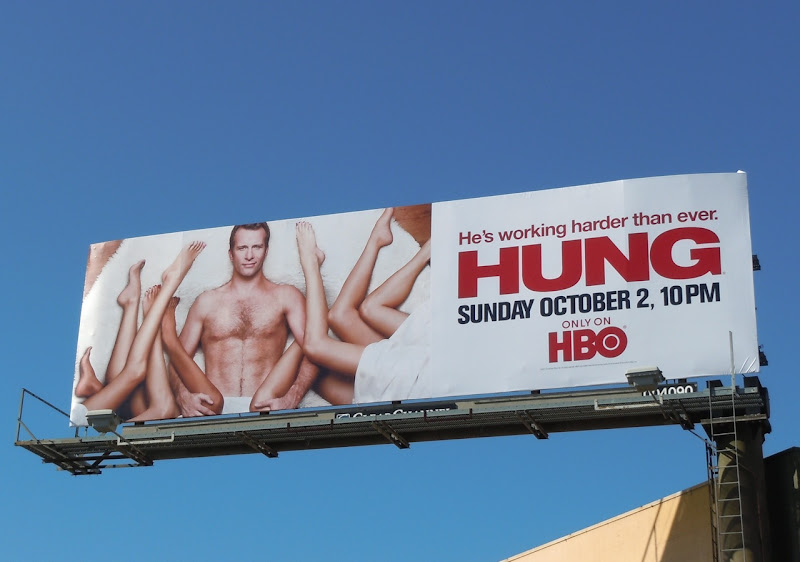 Hung season 3 HBO billboard