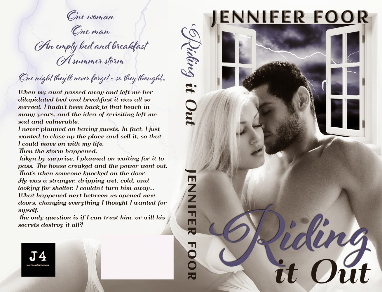 Cover Reveal: Riding It Out by Jennifer Foor