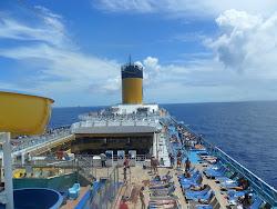 Especial Costa Pacifica 2012 : Sexto dia - navegação