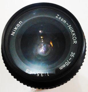 tampak depan lensa nikon 35-70mm