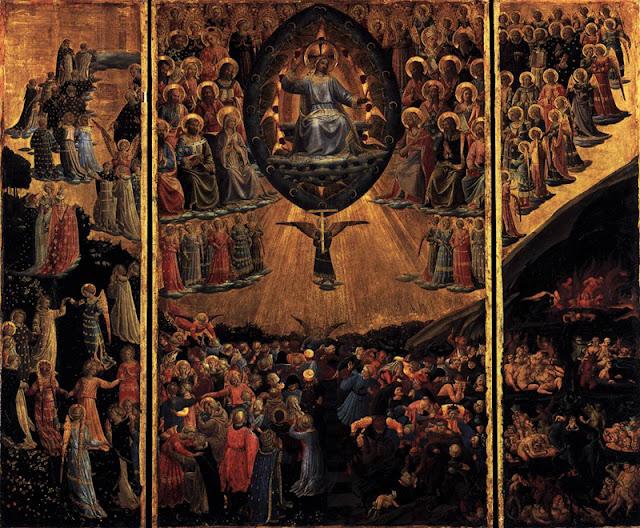 Fra Angelico, Le triptyque du jugement dernier