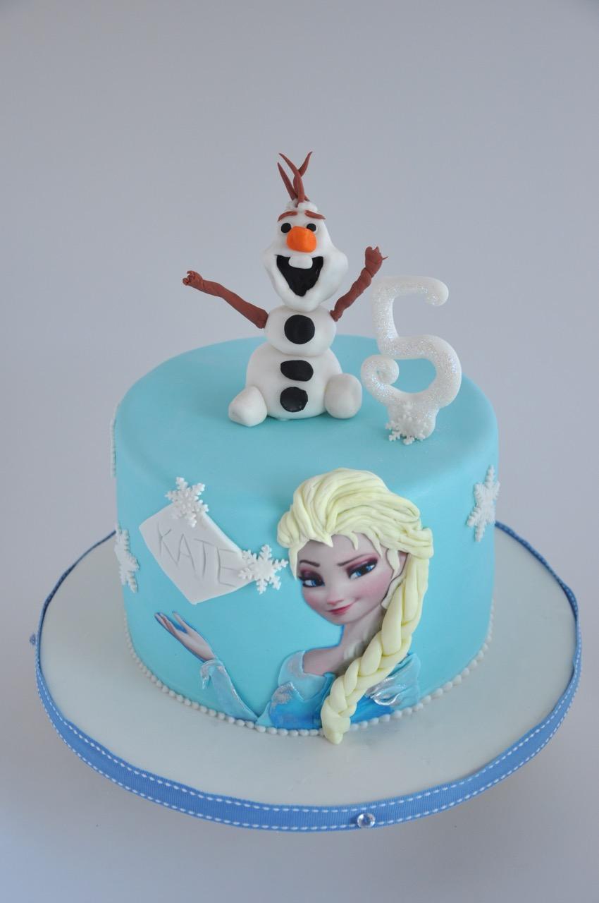 Olaf Frozen Cake Pops