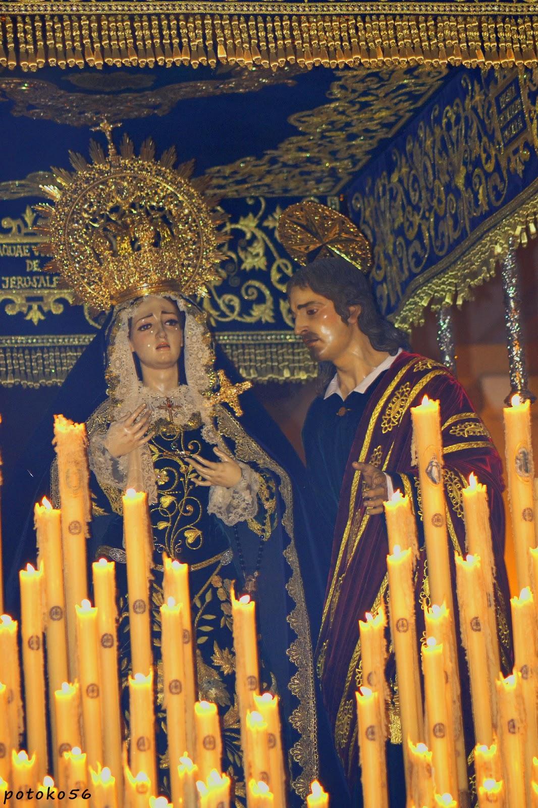 María Santísima de la Caridad y San Juan Evangelista Rota