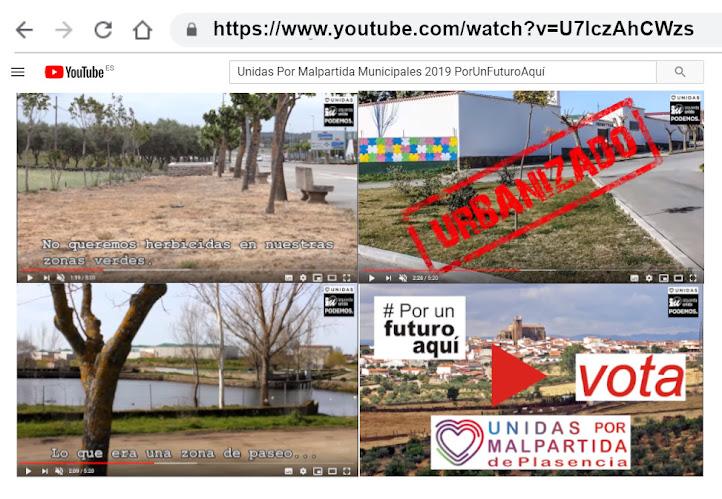 Unidas Por Malpartida Municipales 2019 #PorUnFuturoAquí
