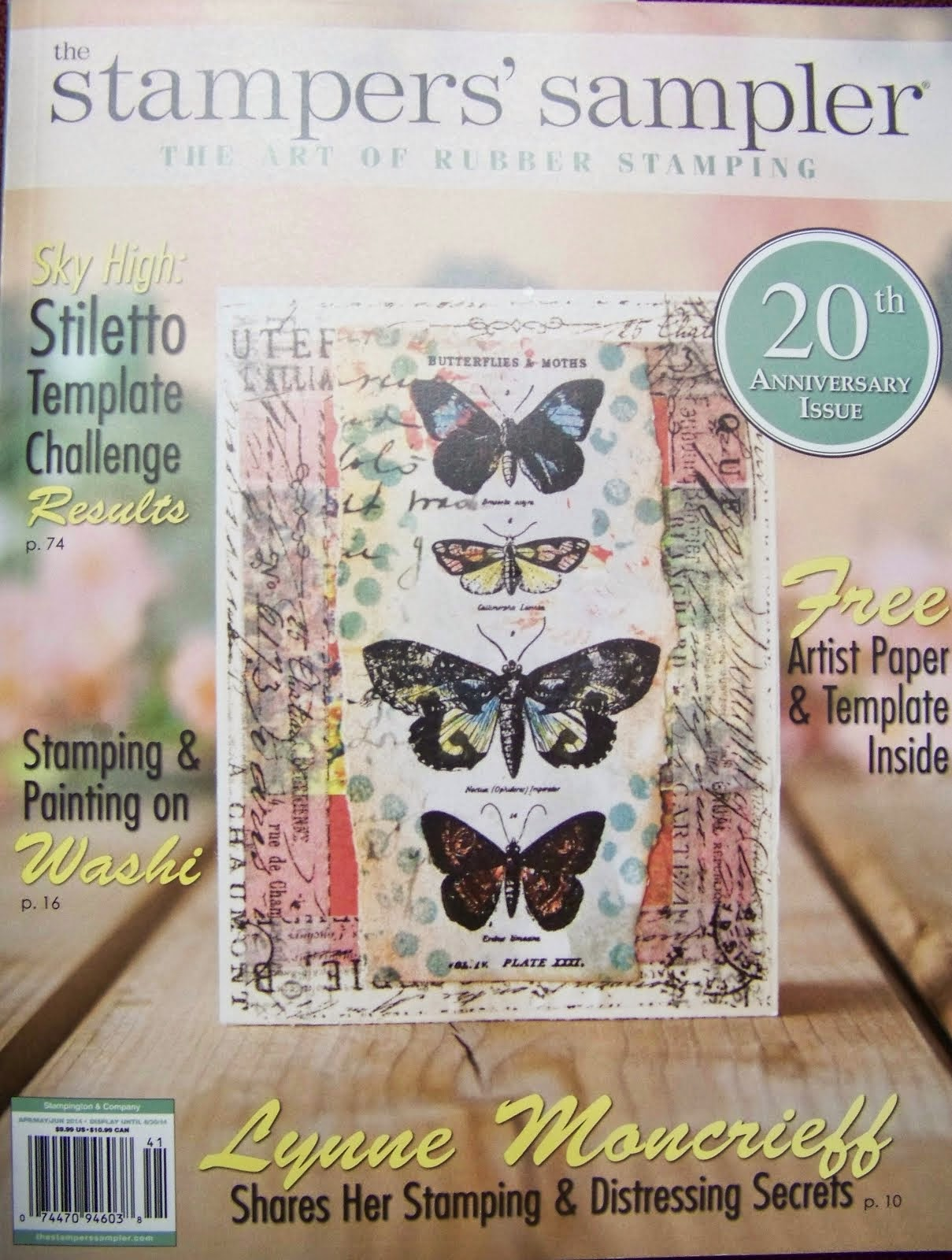 The Stampers Sampler Spring 2014