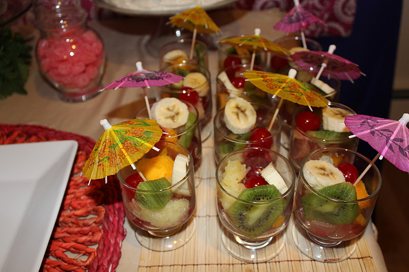 hawaiian party ideas food