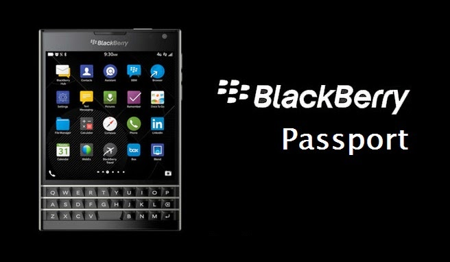 Harga Spesifikasi BlackBerry Passport Ponsel Unik Berbentuk Persegi