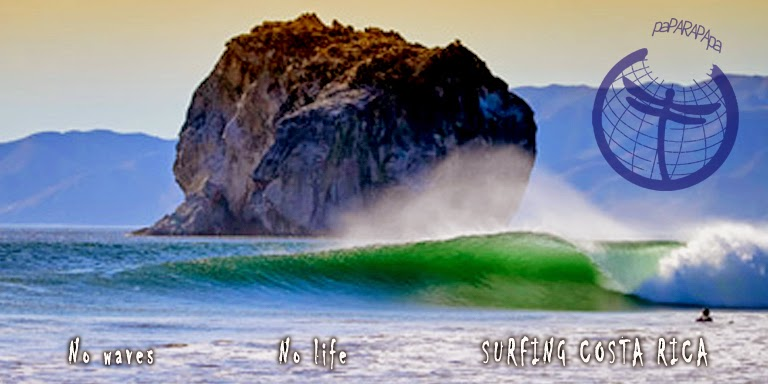 Rutas e información para surfear en Costa Rica