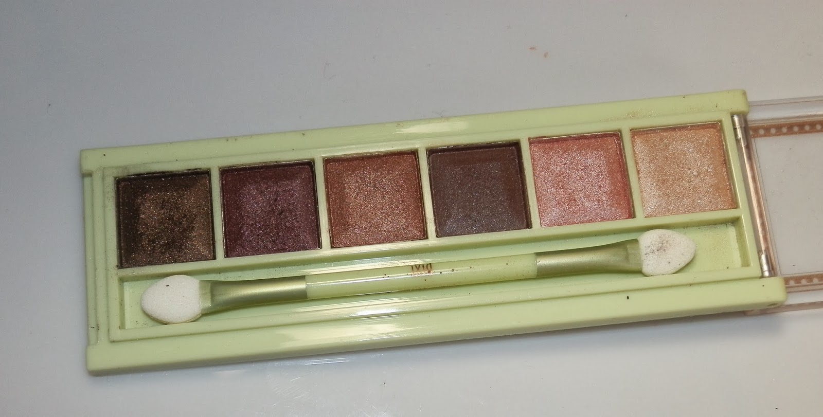 Pixi Beauty Icy Eye Palette Buff Blizzard Swatches