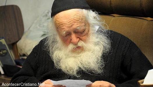 Rabino israelí afirma que la venida del Mesías está cerca