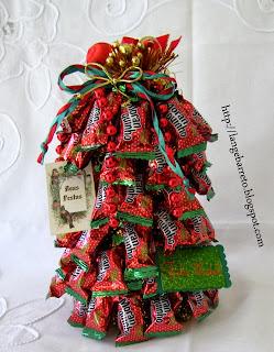 Topo de mesa natalino