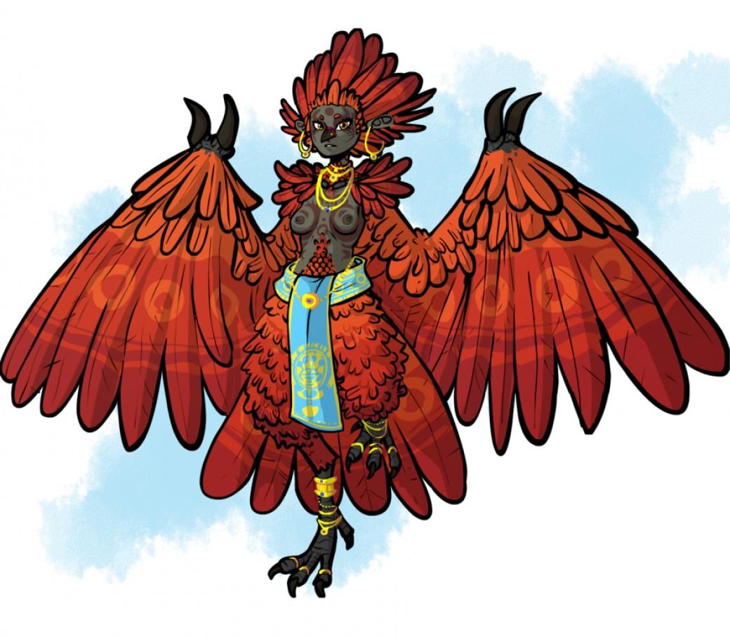 Day 1, Harpy por DasWiener
