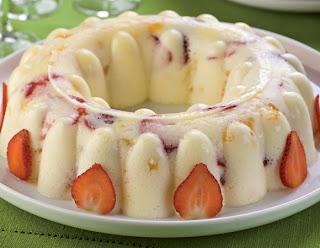 Spumoni de iogurte e frutas light