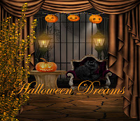 Halloween Dreams fantasy backgrounds