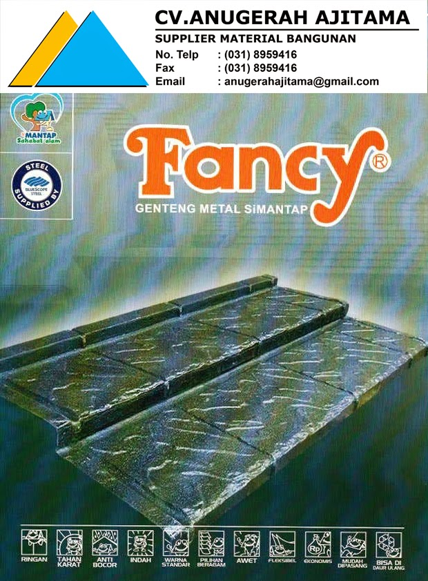 KATALOG GENTENG METAL FANCY