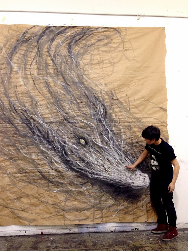 Fiona Tang's mural paintings