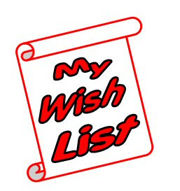 wish list