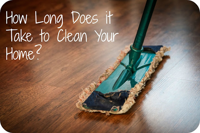 How Long Does it Take to Clean Your Home?