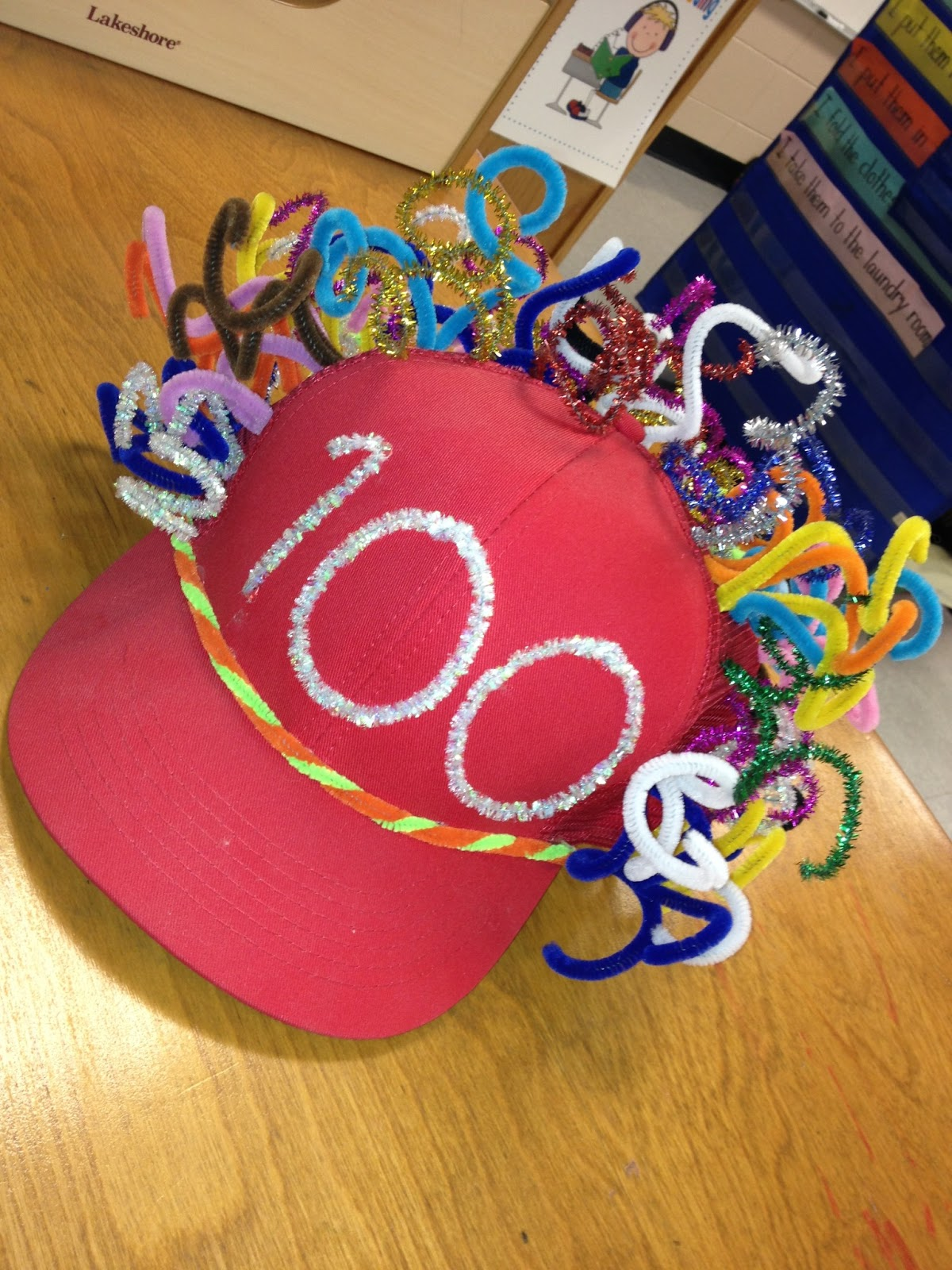 100th day hat template - few teachers will be getting together next week to create