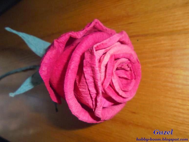Выкройка для розы из гофрированной бумаги фото 34