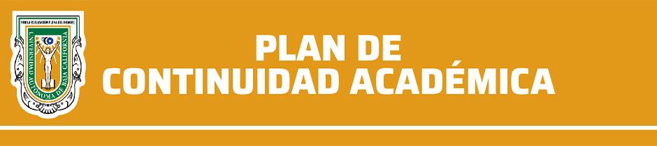 Plan de Continuidad Académica UABC