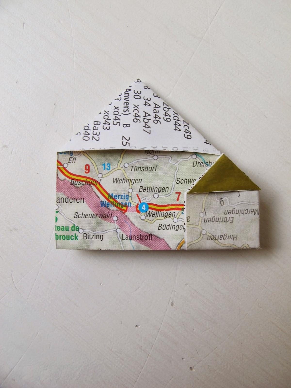 Werkeltagebuch Upcycling-Dienstag Origami