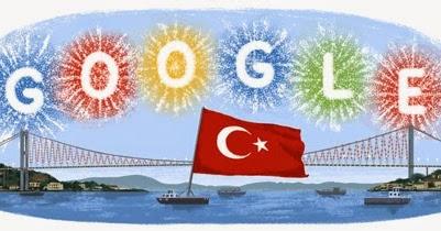 google cumhuriyet bayramılogosu ile ilgili görsel sonucu