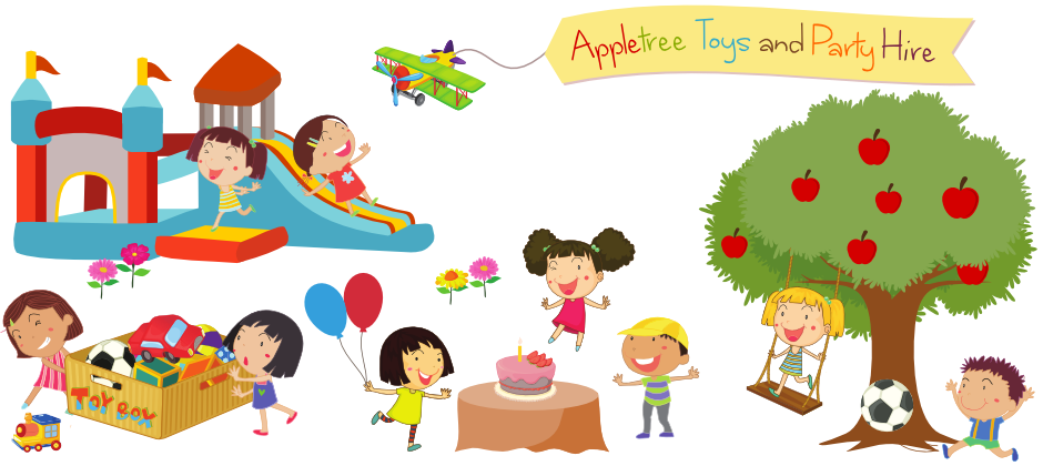 Sewa Mainan dan Party Service Apple Tree