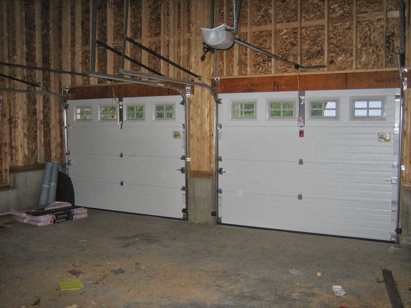 The impatient home builder vent fans garage doors for Door ventilation design