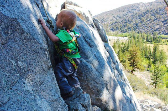 O pequeno montanhista Bodhi Bennett