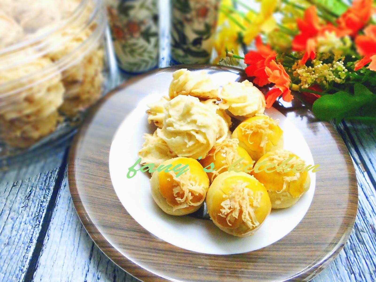Welcome to Fany's kitchen: Sagu Keju dan Nastar Keju