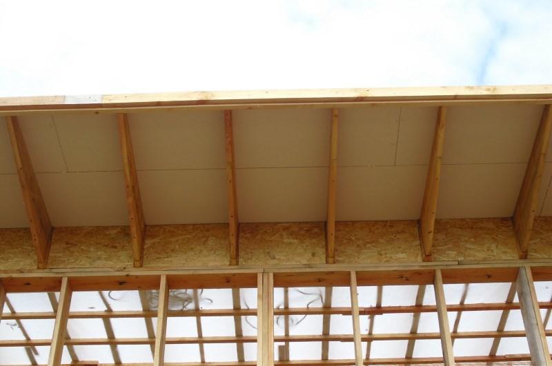 """Notre Maison""""La Catiche"""" Isolation du toit copeaux de bois  # Isolation Copeaux De Bois"""