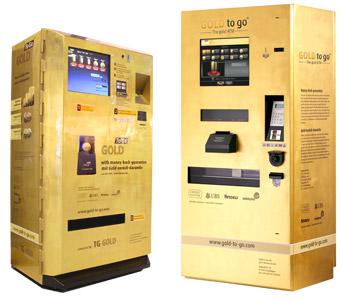 Mesin menjual emas China