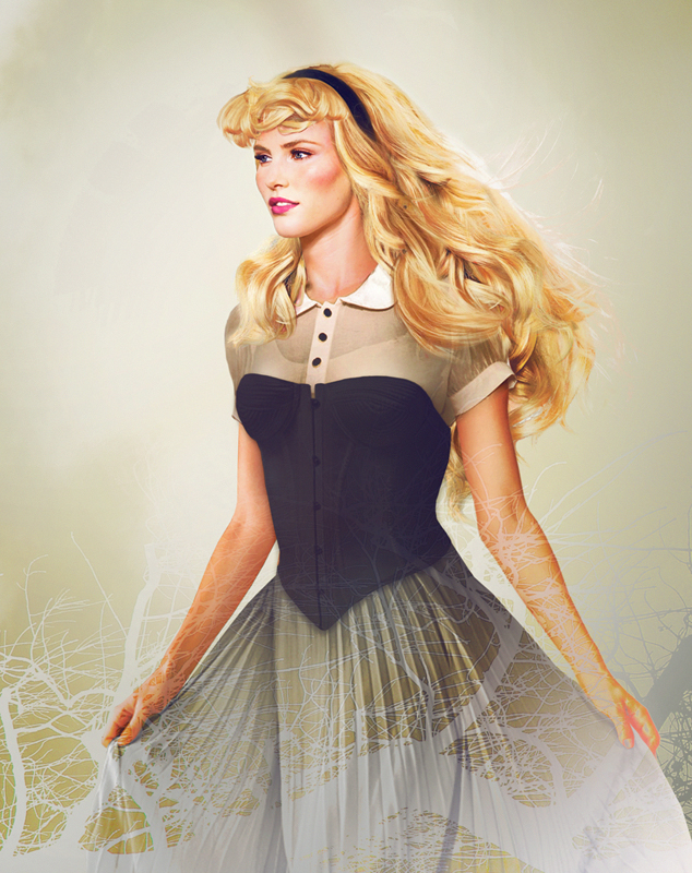 Las princesas de Disney con apariencia real