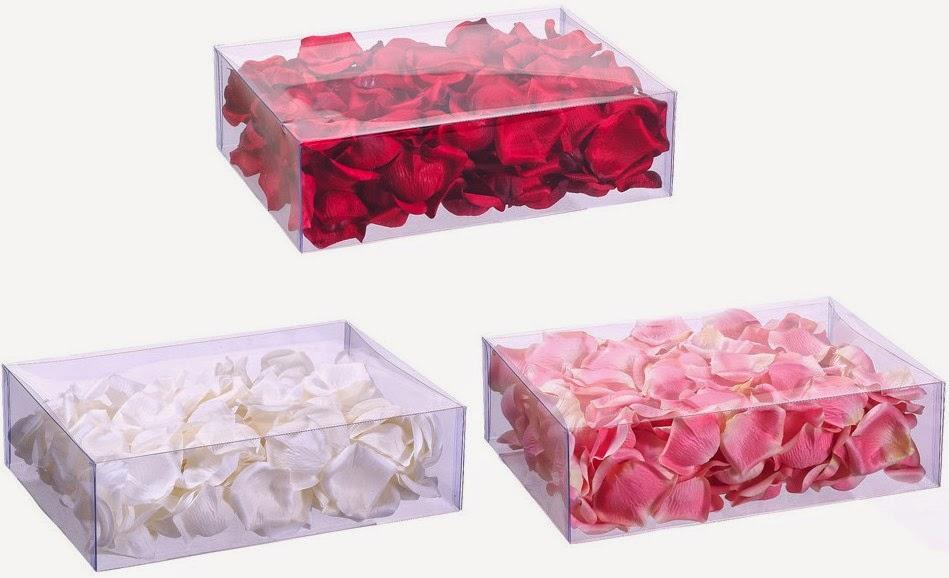 realistic silk rose petals for weddings