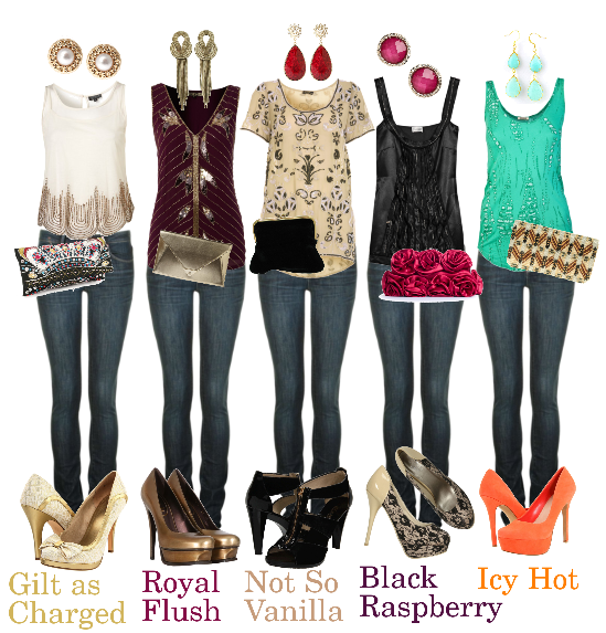 Go for one of these in trend velvet outfits for a unique and trendy look. Velvet looks sexiest on slim and petite girls so if you're on the curvy side then this is something you should avoid on new year night. Source #2 – New Year's Eve Outfit For Teens. You can wear a slightly sparkly tshirt with skinny jeans for a .